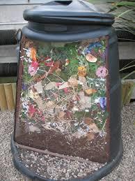 生ごみ堆肥化容器の断面