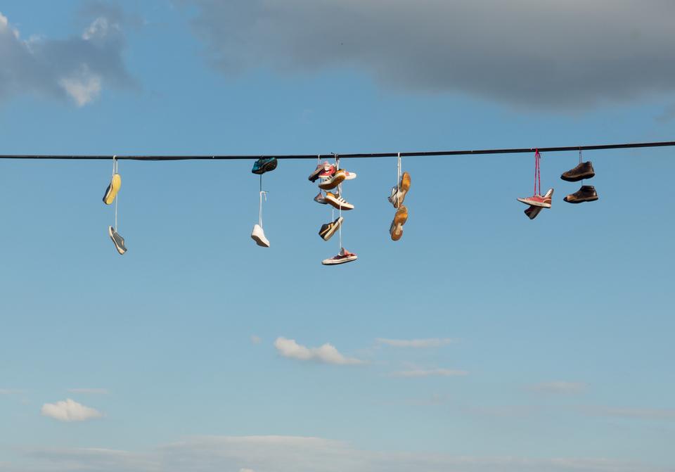 洗濯機 靴 スニーカー