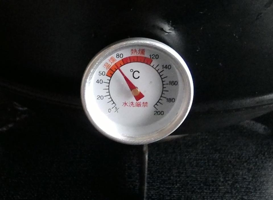 燻製 温度 計