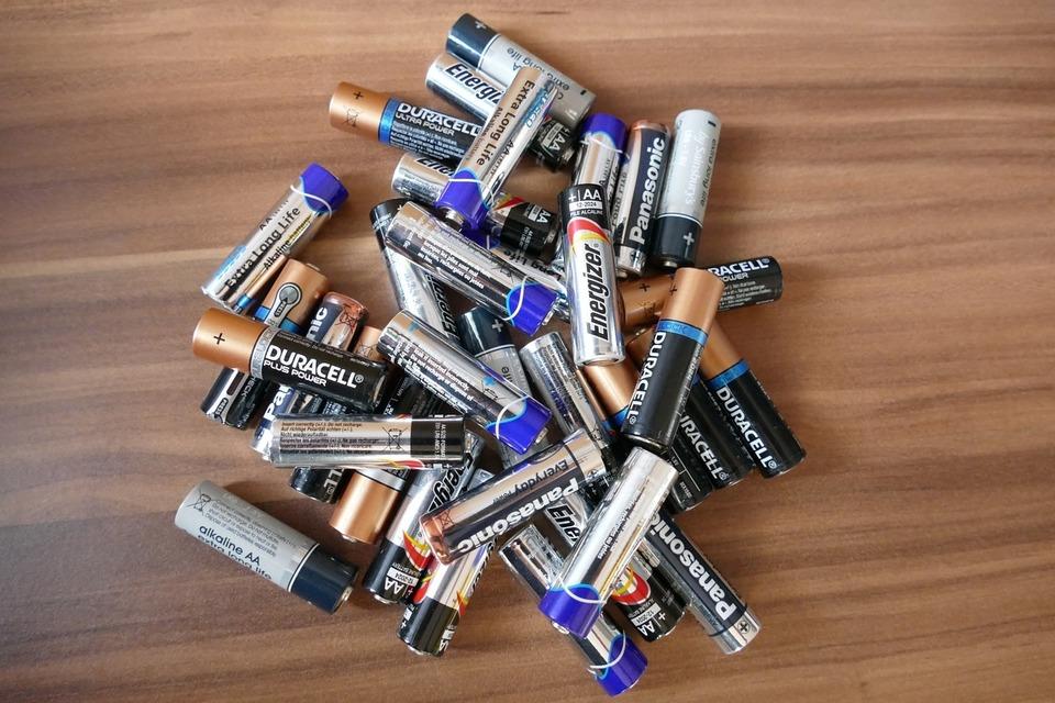 電池の保管方法
