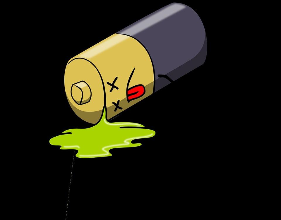 電池 保管方法