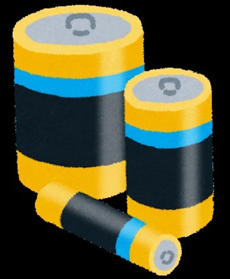コンビニの電池