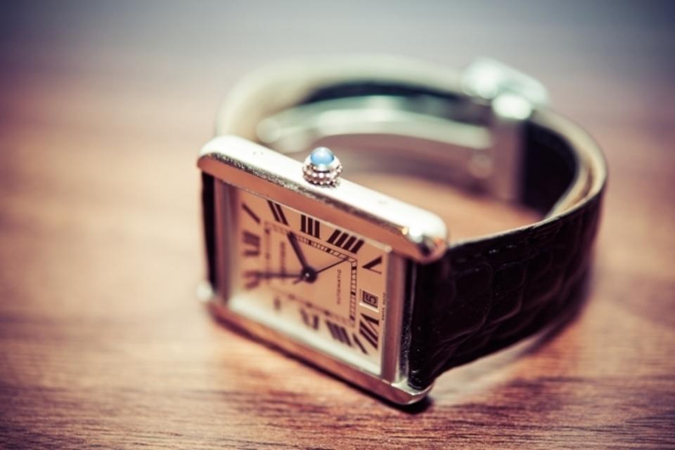 腕時計の風防の交換