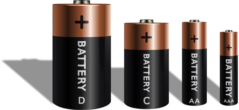 電池のサイズ