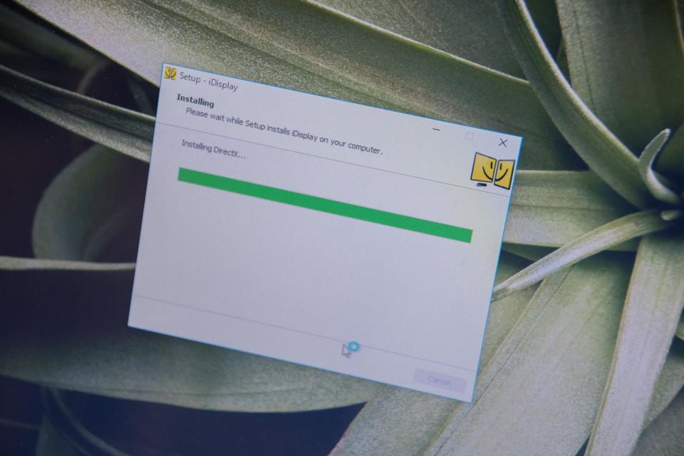 PC画面をスマホでサブモニター