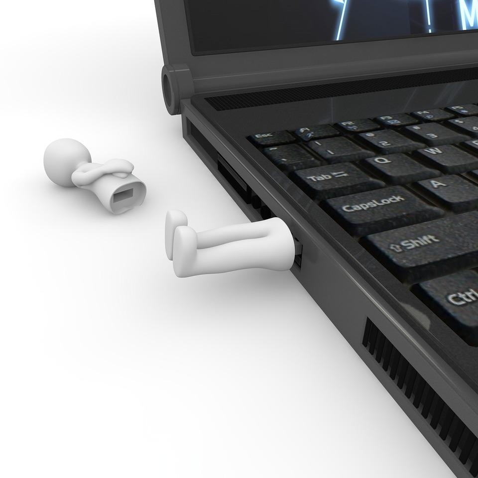USBメモリとコンビニ