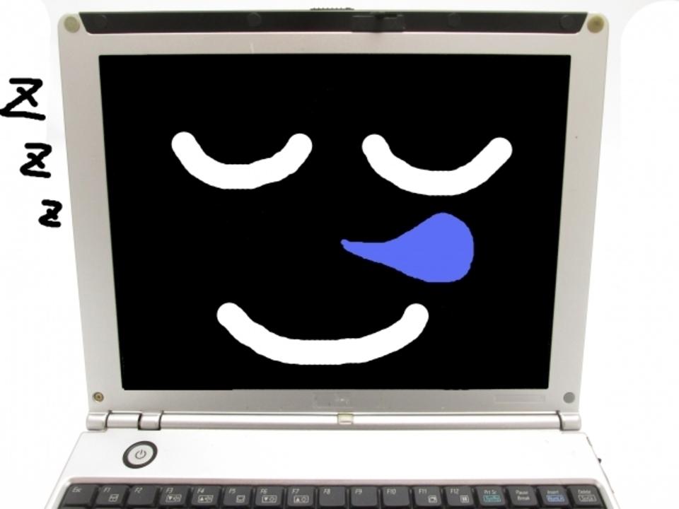 ノートパソコン スリープ