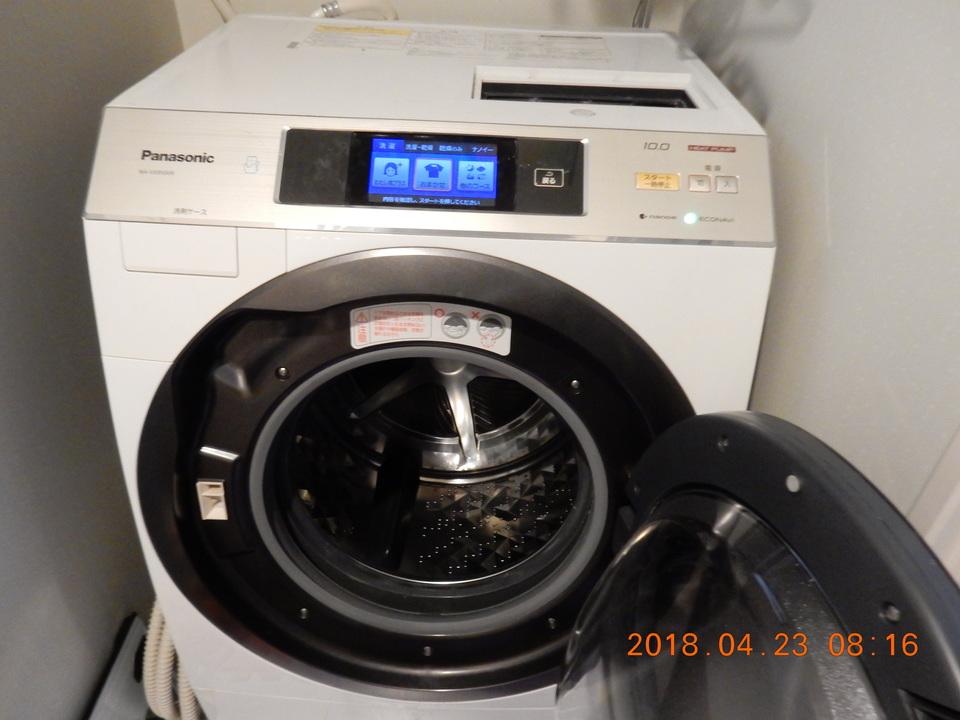 ドラム式洗濯機外観