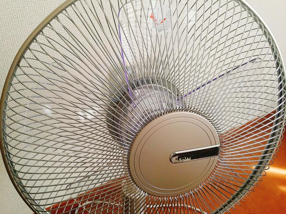 扇風機 掃除