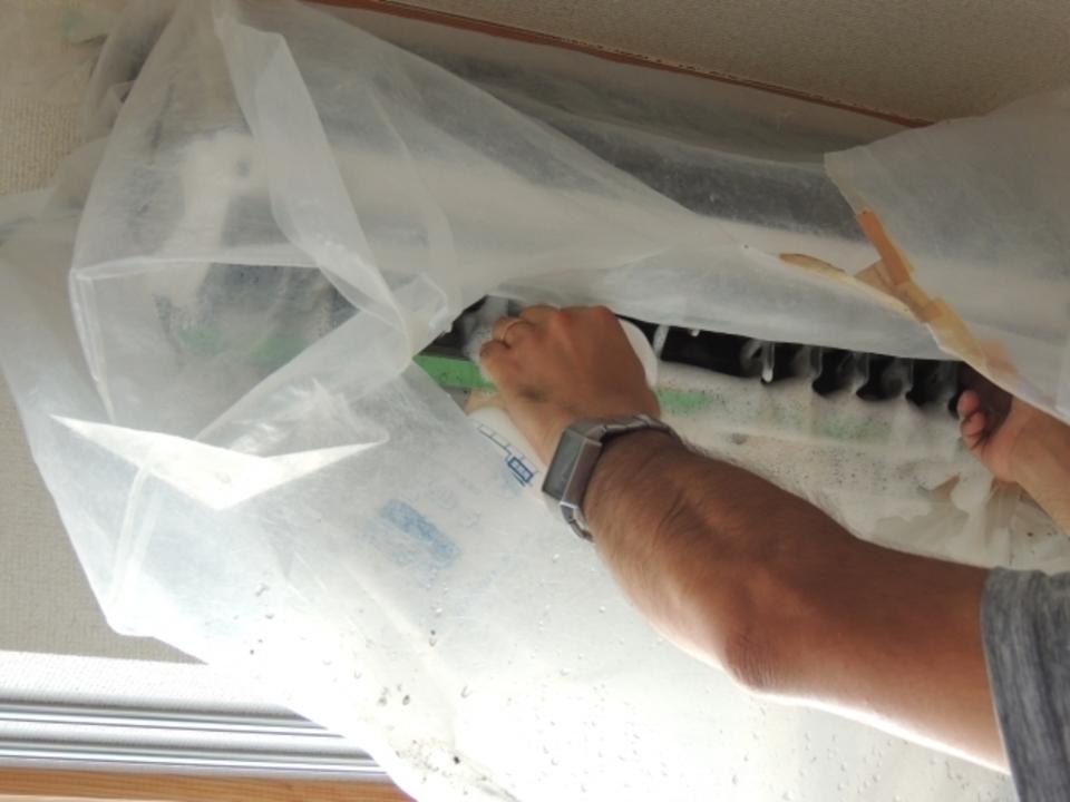 エアコン 掃除 カビ