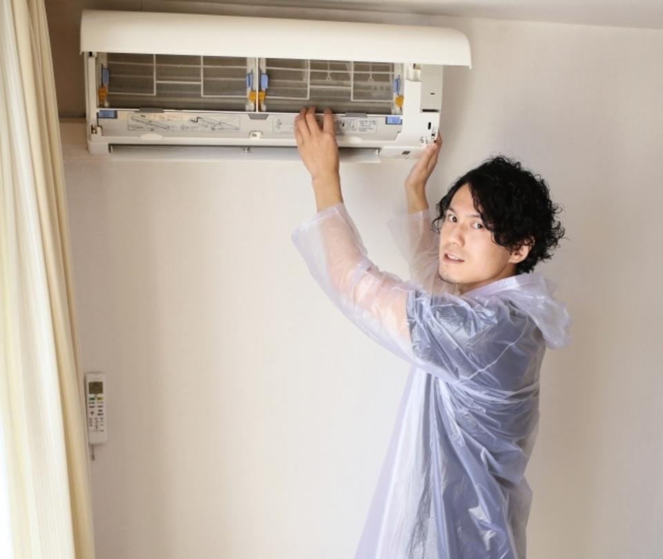 エアコン 移動 取付 取外 DIY 自分で 自己責任 失敗