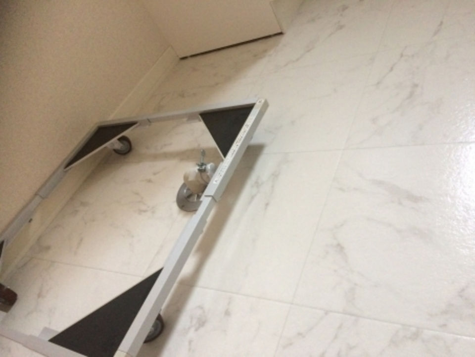 洗濯機 防水パン 自分で 設置 無料 蛇口 かさ上げ ユニット台
