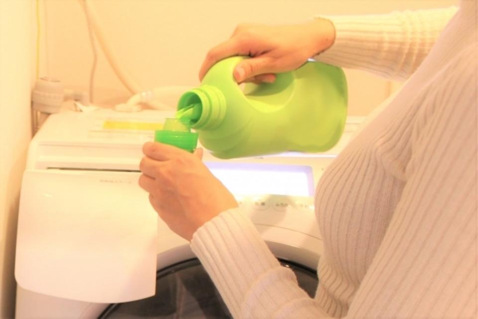 洗濯機洗剤投入
