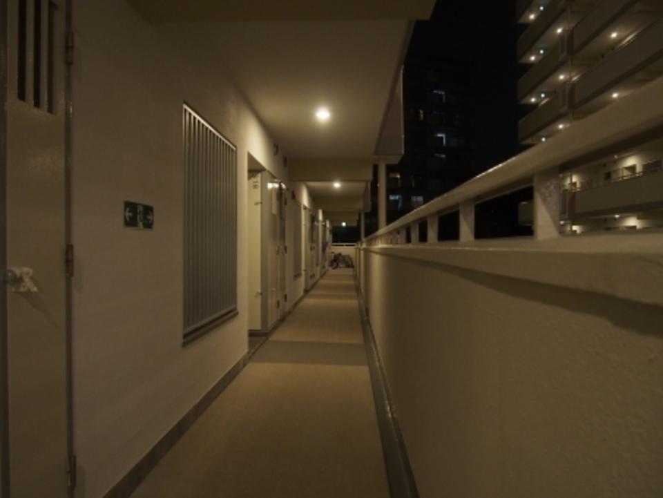 洗濯機 おすすめ 夜 一人暮らし マンション 廊下 夜