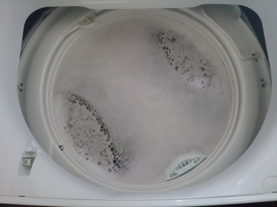 洗濯機ゴミ