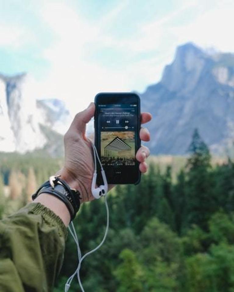 iPhone 音楽再生