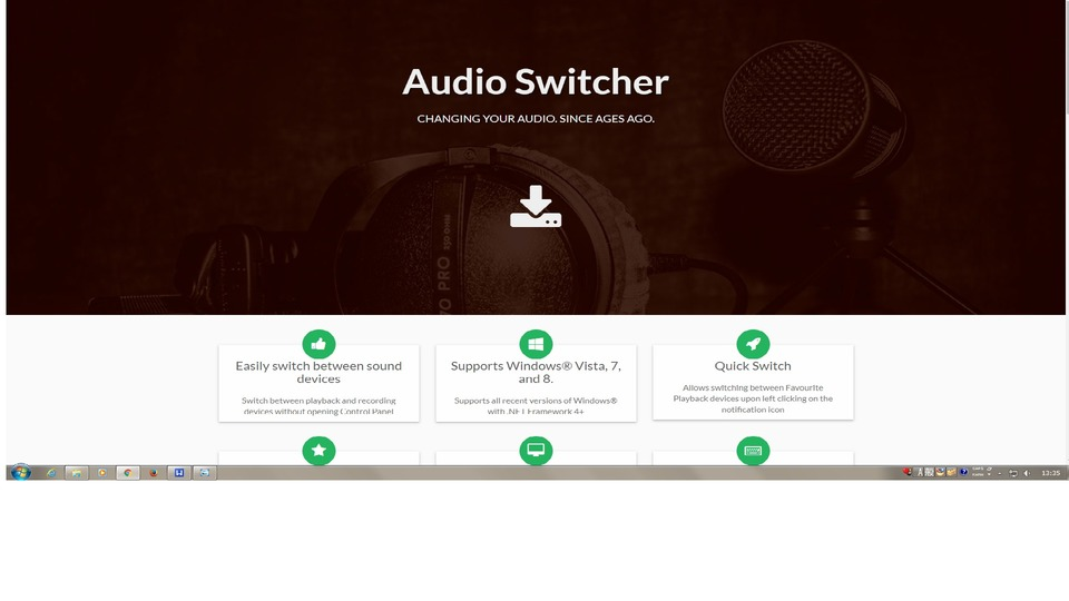 Audio switcher