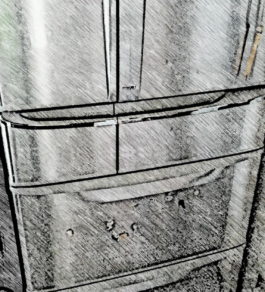 冷蔵庫 乾燥