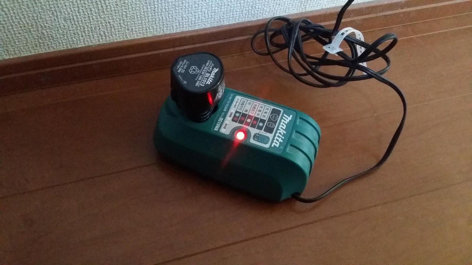 マキタ充電式クリーナー CL102D