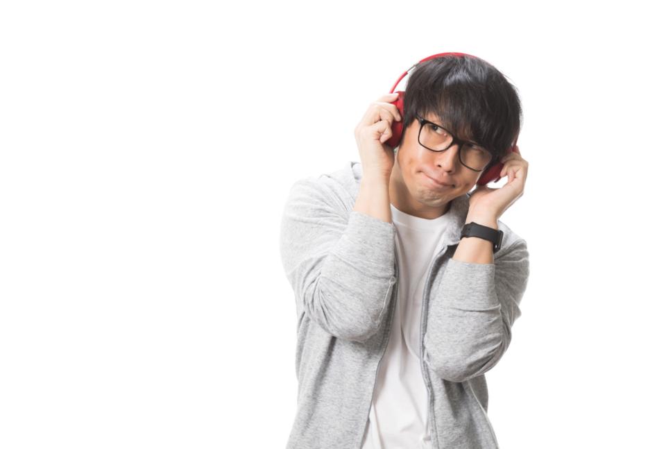 音楽鑑賞 男性