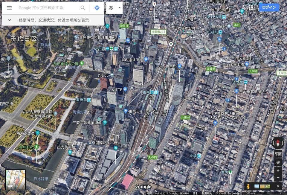 グーグル マップ 3d できない