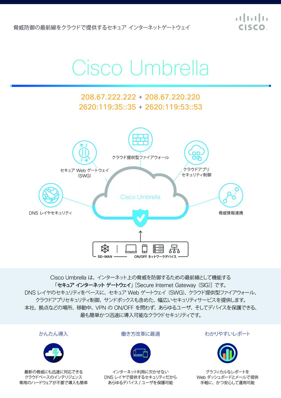 Cisco Umbrellaの資料