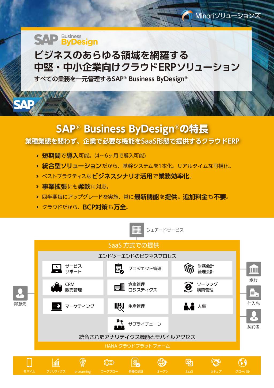SAP Business ByDesignの資料