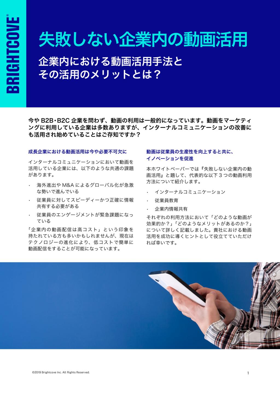 Enterprise Video Suiteの資料