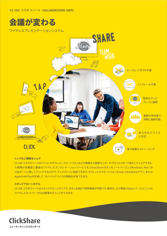 ClickShareの資料