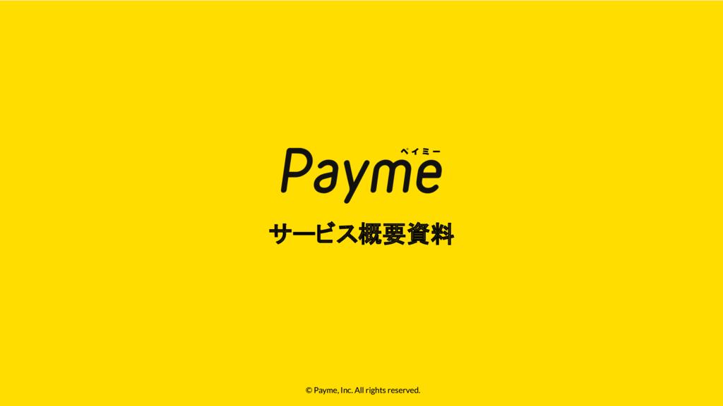 Paymeの資料