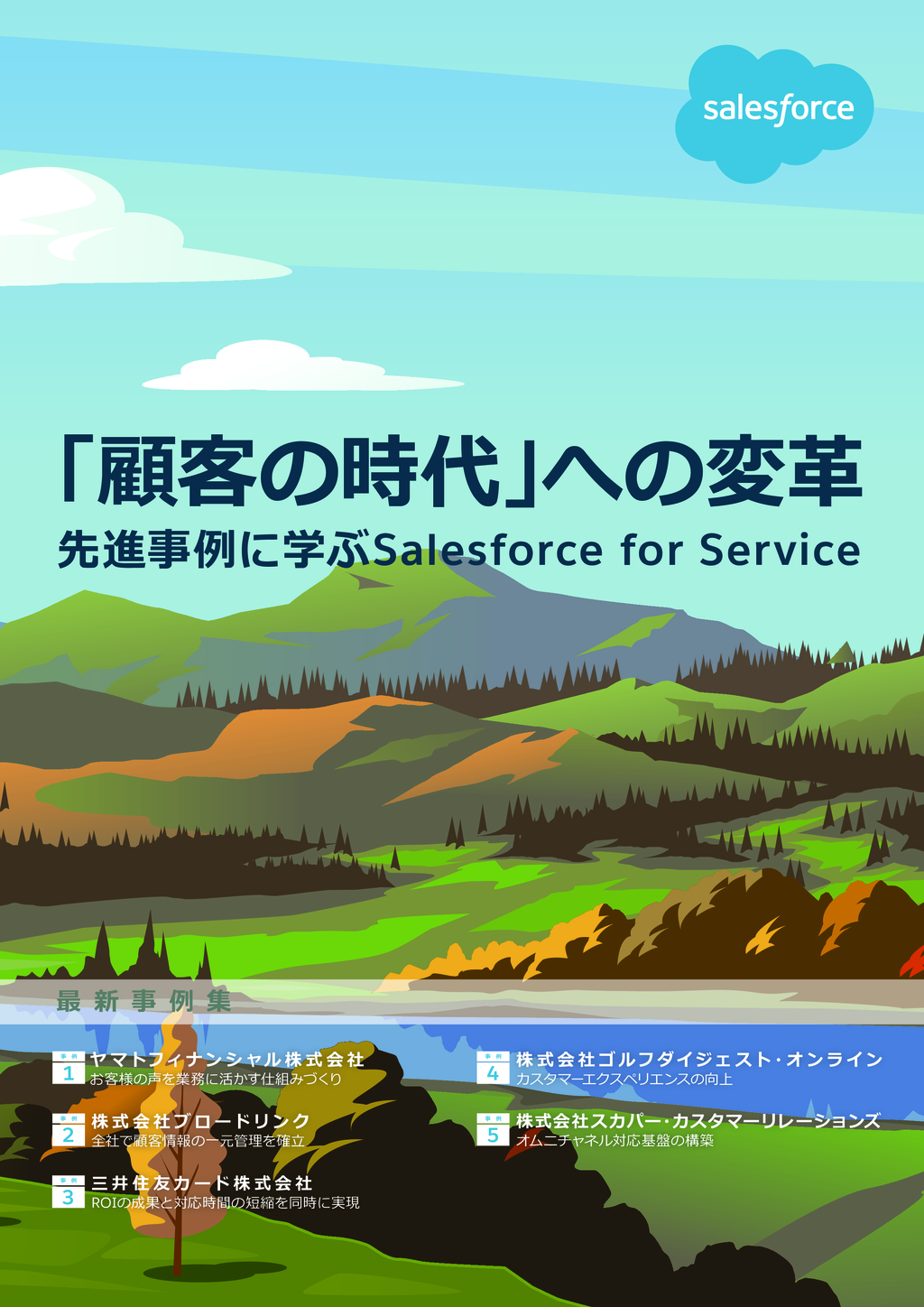 Salesforce Service Cloudの資料
