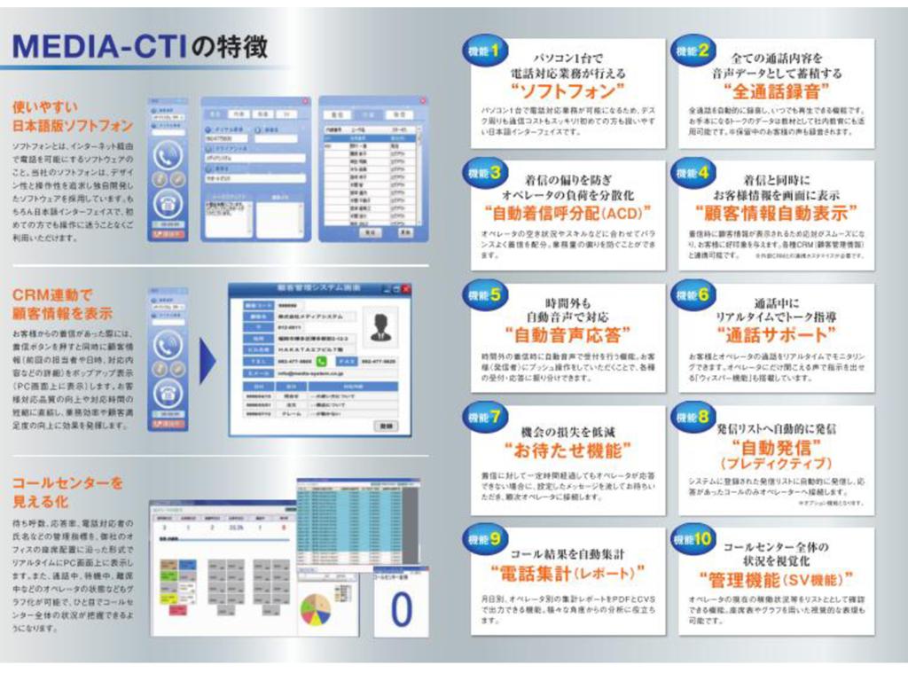 MEDIA-CTI の資料