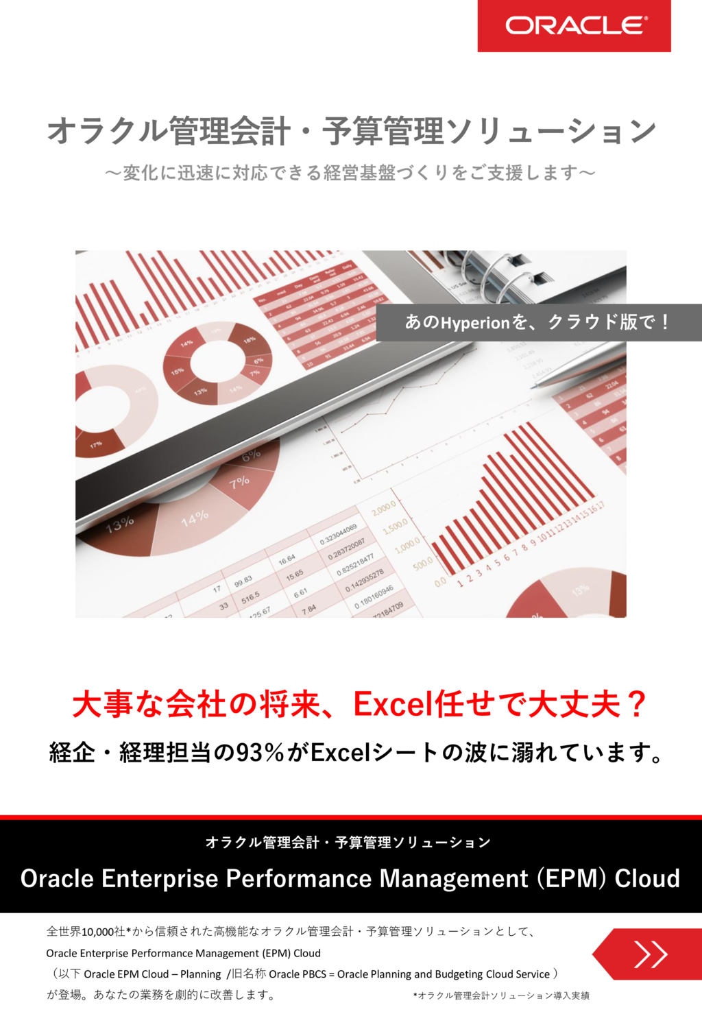 Oracle EPM Cloud-Planning (PBCS)の資料
