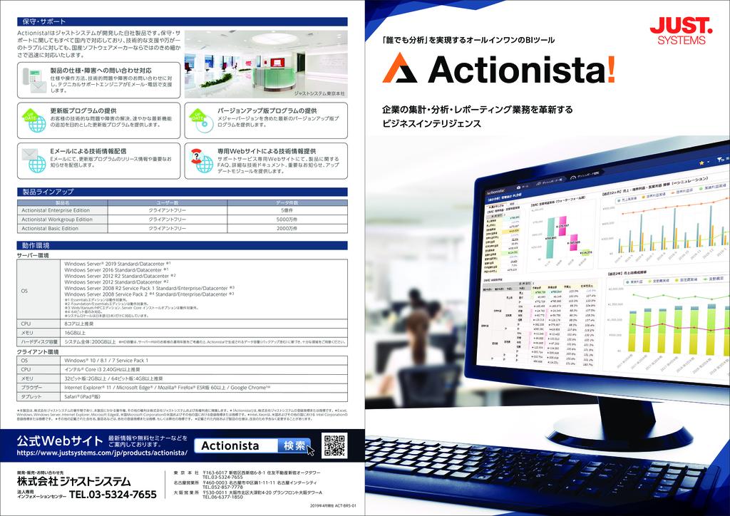 Actionista!(アクショニスタ)の資料