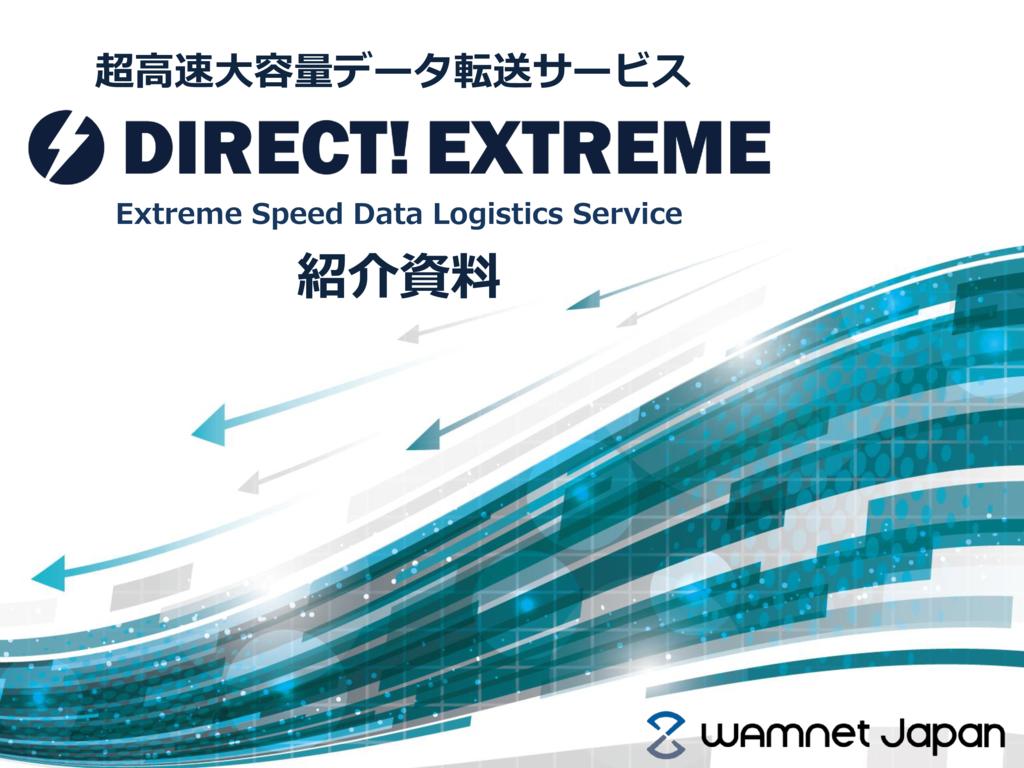DIRECT! EXTREMEの資料