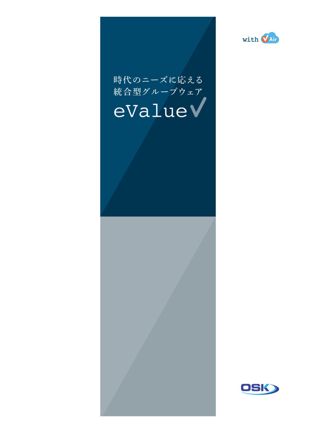 eValue V Airの資料