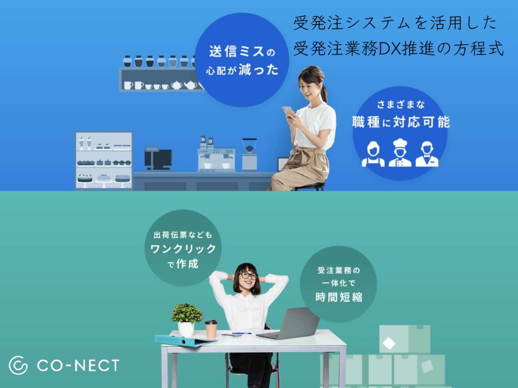 受発注CO-NECTの資料