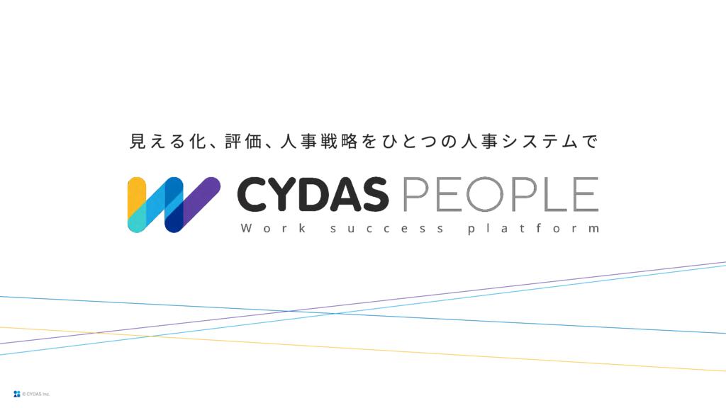 CYDAS PEOPLEの資料