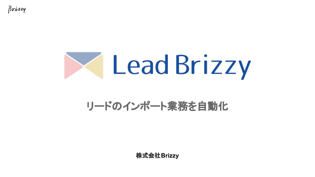 Lead Brizzyの資料