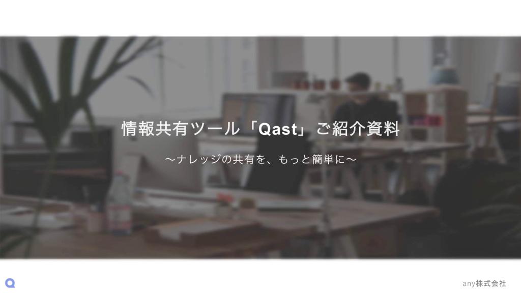 Qastの資料