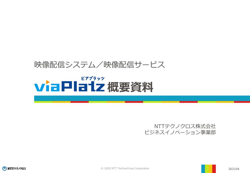 viaPlatzの資料