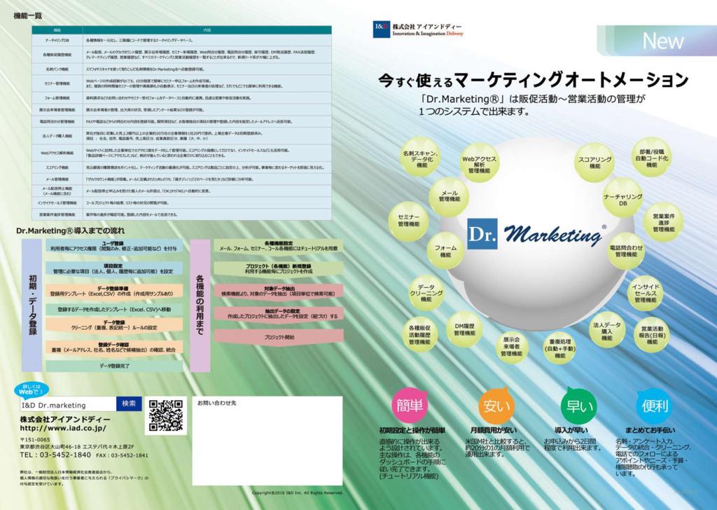 Dr.Marketing(ドクターマーケティング)の資料