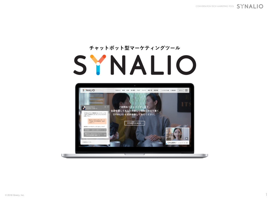SYNALIOの資料