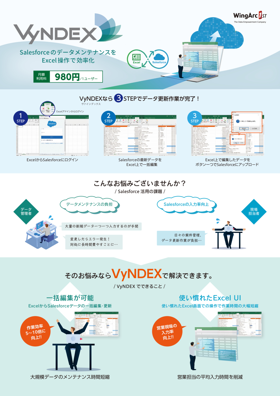 VyNDEXの資料