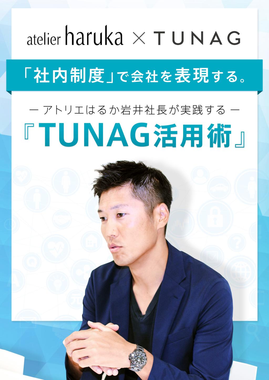社内コミュニケーションプラットフォーム「TEMPOS」byTUNAGの資料