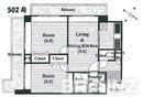 2面バルコニー、独立キッチンなど、住みやすい分譲マンションです。