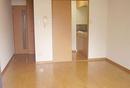 地下鉄沿線の分譲賃貸マンション。脱衣所、洗面台付でこの家賃です。