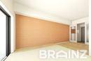 新築!3月18日入居スタート!ライフスタイルに合わせたお部屋を選べます。こちらは畳のある和風テイストなお部屋です。