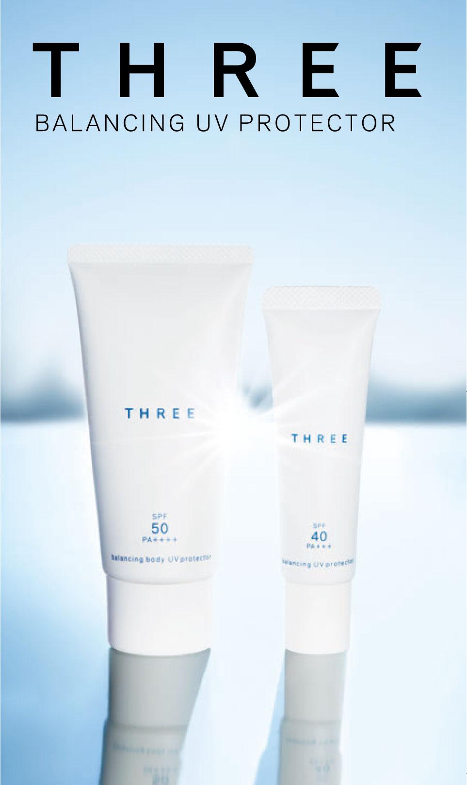THREE BALANCING UV PROTECTOR