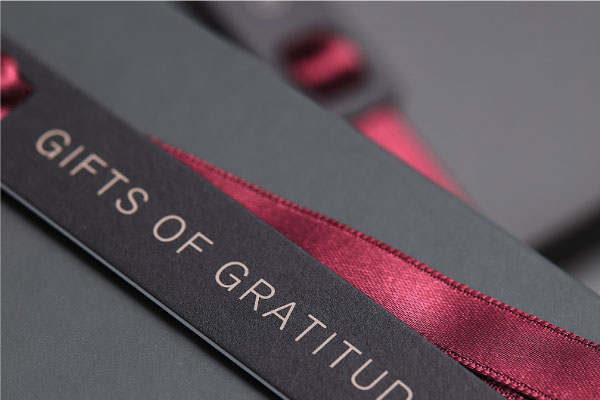 2020 THREE GIFTS OF GRATITUDE〈ギフトプロモーション〉